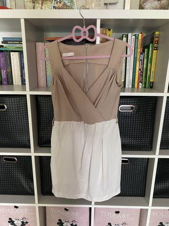 Kopertowa sukienka, rownież do karmienia M 38