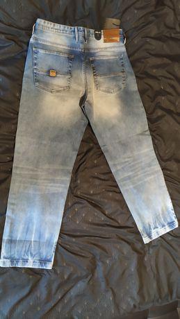 Spodnie męskie Pelle Pelle Baxter Baggy jeans W32 L32 PP1015
