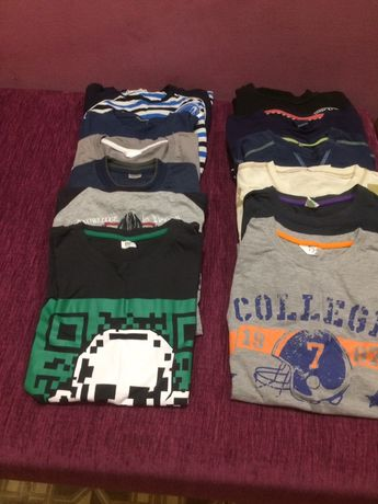 Koszulki swetry dla chlopca