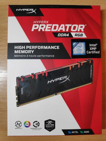 Оперативная память Kingston HyperX Predator RGB DDR4 32Gb 3200 MHz
