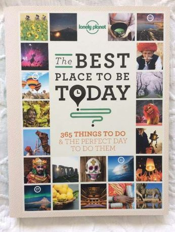"""Livro """"The Best Place To Be Today"""""""