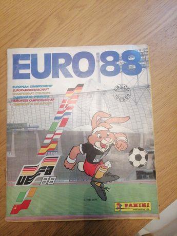 Caderneta de cromos panini euro 88