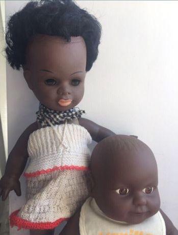 Куклы афроамериканцы. Мама с малышом .