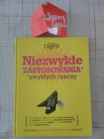 """książka """"niezwykłe zastosowania zwykłych rzeczy"""""""