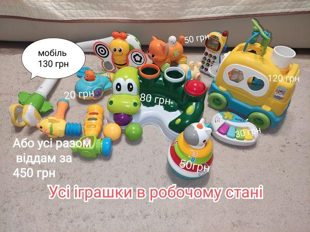 Дитячі іграшки в справному стані.