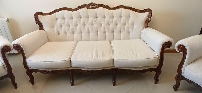 Sofá Vintage - Estilo Louis XV