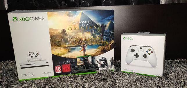 Xbox One S 1TB + 5 Jogos + 1 comando