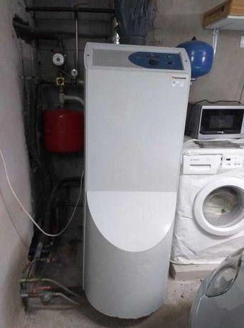 Caldeira a gasóleo para casa + depósito
