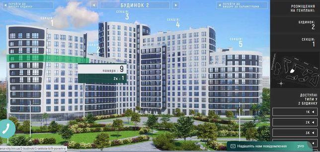 Терміново продам 1-ну квартиру в новобудові Parus City
