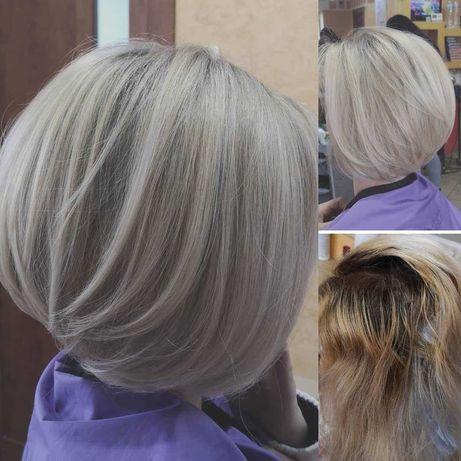 зачіски airtach балаяж шатуш міліровка брови ламінування локони коси