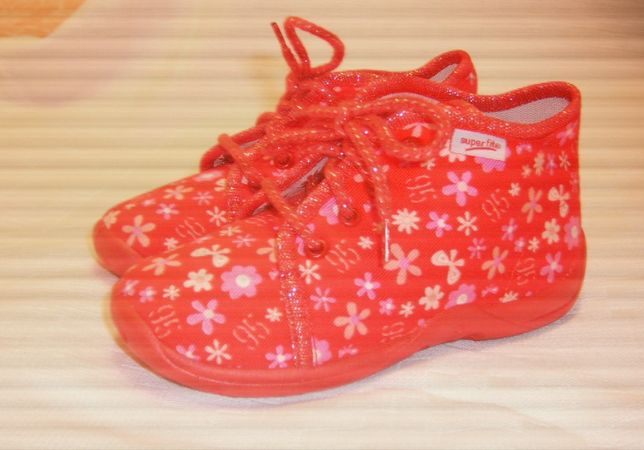Детские текстильные ботиночки