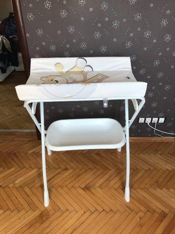Пеленальный столик с ванночкой Cam (Кам) Volare