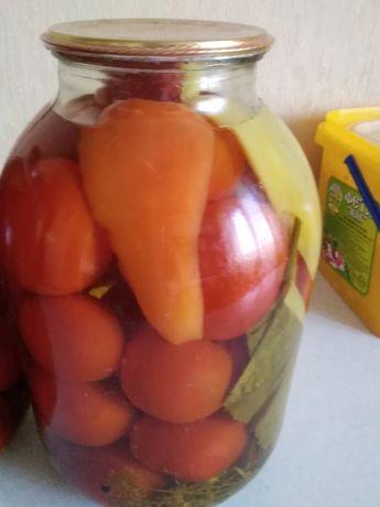Домашние помидорчики