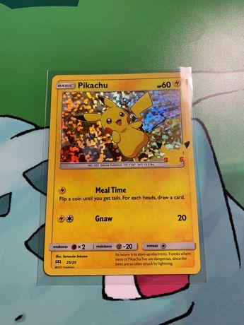 Carta Pokémon Pikachu