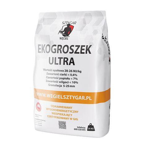 Węgiel Ekogroszek SZTYGAR ULTRA 26-28 MJ, darmowa dostawa, PROMOCJA!
