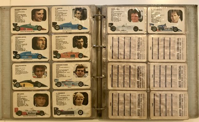 Coleção de 143 calendários - Anos 80