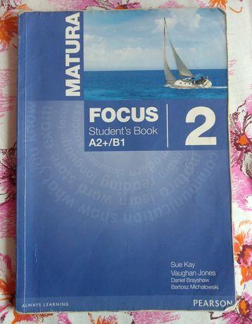 Matura Focus 2 Student's Book A2+/B1 podręcznik do języka angielskiego