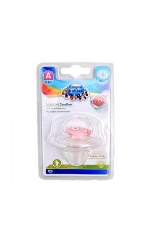 Пустышка Canpol Babies силиконовая симетричная 0-6 мес