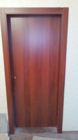 Межкомнатная дверь в ванную (ДБК4)