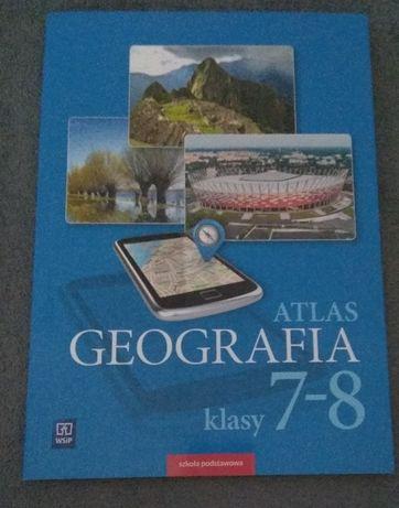 Atlas GEOGRAFIA klasy 7-8