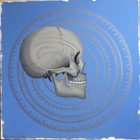 Картина маслом «Мысли»