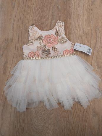 Sukienka wizytowa niemowlęca