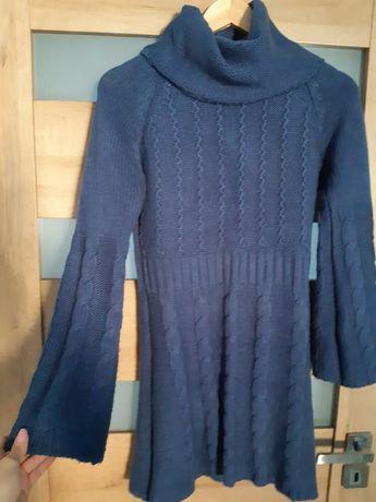 Sweterkowa sukienka S