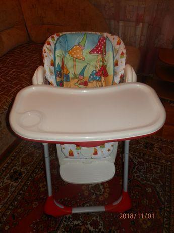 Столик для годування Chicco polly 2 in 1 стульчик для кормления