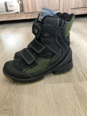 Зимние ботинки черевики Ecco 30 розм