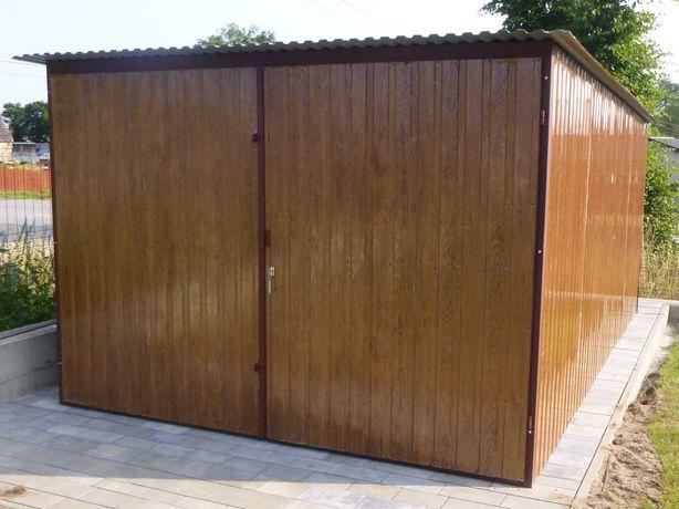 Garaż blaszany Blaszak Schowek na budowę Producent garaży !!!