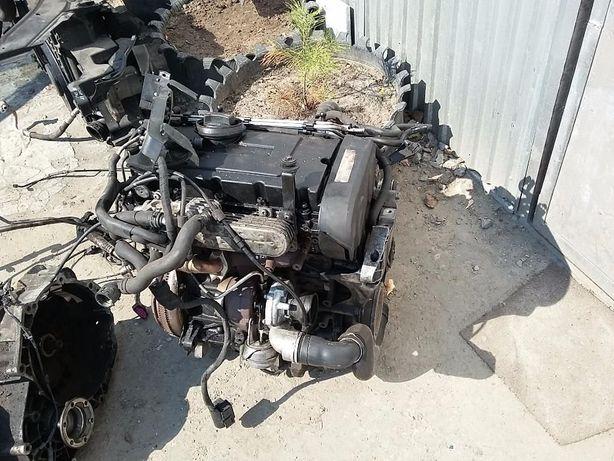 Двигатель бу VW Audi Skoda Seat 2.0TDI маркировка BKP, гарантия