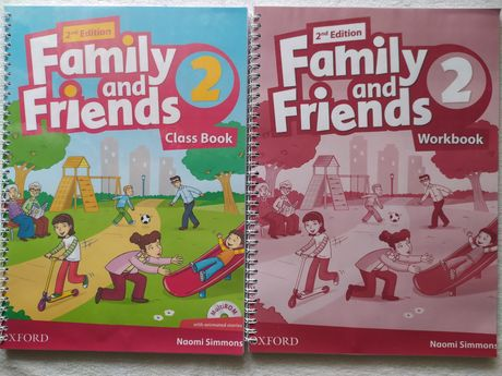 Family and Friends 2nd Edition все части.
