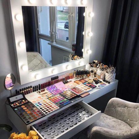 Lustro do makijażu 110x90 Wizażu , Hollywood Mirror , LustroLux