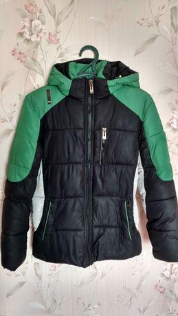 Куртка зимова на ріст 158-164см