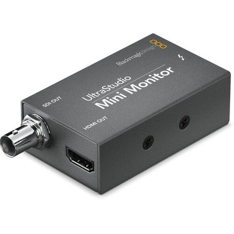 Blackmagic ultrastudio mini monitor hdmi e sdi out thunderbolt