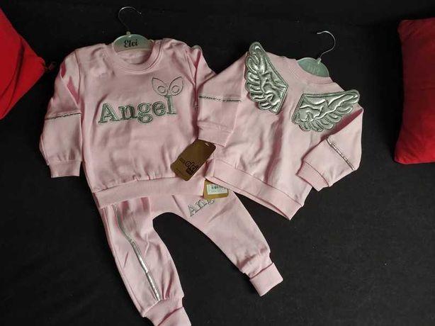 NOWY komplet Angel ze skrzydłami 74
