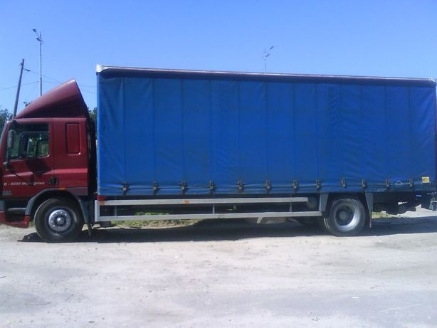 DAF CF 75 грузовик тентованный 2001 г.выпуска
