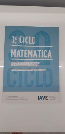 Livro Matemática- Questões de Provas Finais Nacionais- 3° Ciclo