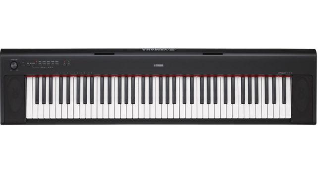 Pianino cyfrowe Yamaha NP-32 czarny Nowe Piaggero