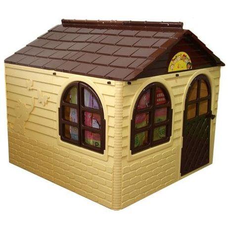 Домик детский игровой для улицы дачи со шторами