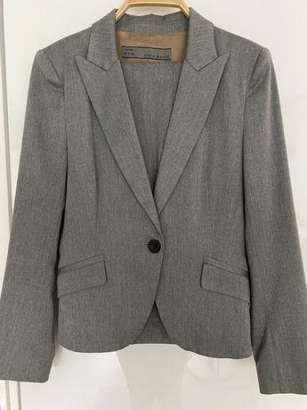 Garnitur damski Zara marynarka+spodnie M