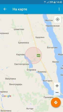 Земельный участок. Киевская трасса.