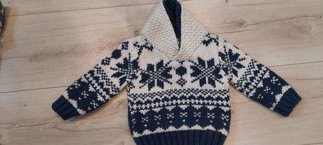 Gruby sweter 74