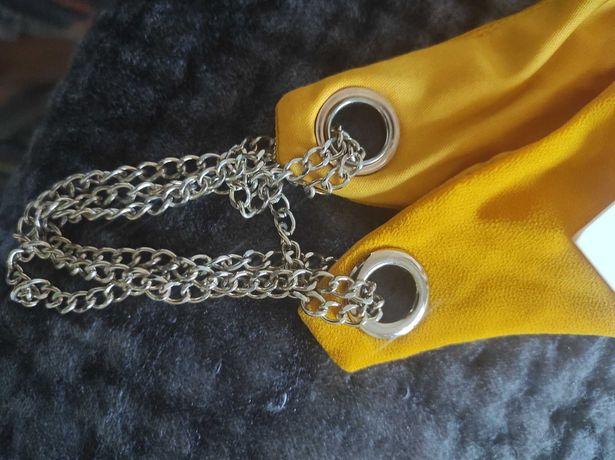 Vestido amarelo torrado novo com etiqueta