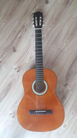 Gitara klasyczna + stojak, stroik