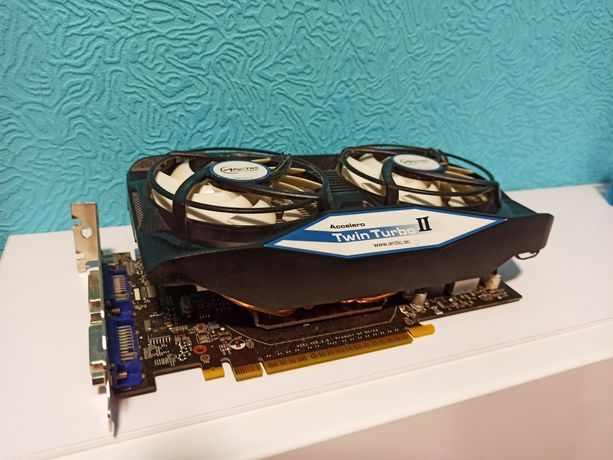 Відеокарта MSI GeForce GTX 550 -Ti 1Gb + ARCTIC Accelero Twin Turbo 2