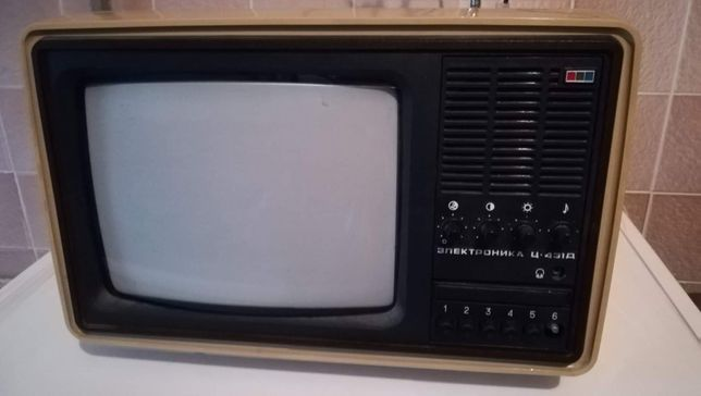 elektronika c-431d telewizor prl