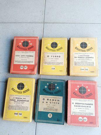 6 livros Biblioteca Cosmos