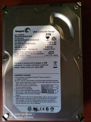 Жесткий диск Seagate 2TB HDD 2TB