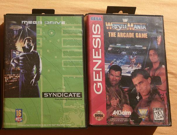 Sega MegaDrive [Mega Drive] Syndicate PAL komplet